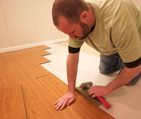 Millcreek Flooring Wood Like Basement Flooring