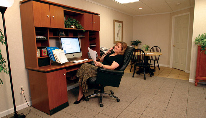 Total Basement Finishing Systems Make It Easy To Get A Home Office ...