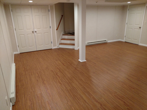 ThermalDry Elite plank flooring - after