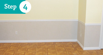 basement wall restoration wet drywall repair solution. Black Bedroom Furniture Sets. Home Design Ideas
