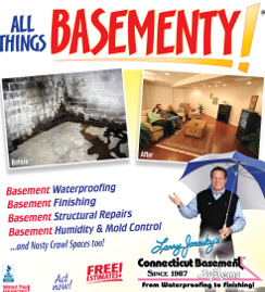 All Things Basementy Connecticut Ad