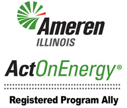 ActOnEnergy rebates in IL can help you with insulation and air sealing work.
