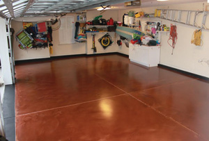 Epoxy floor coating in Greenwich, CT