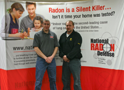 Advanced Radon Mitigators' owner, Bret Patterson is a recent recipient of the award for the Top Radon Sales 2010-2011. Patterson...