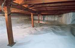 Encapsulated Crawl Space in North Carolina