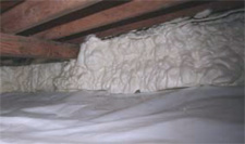 Icynene Spray Foam in Kelowna, British Columbia
