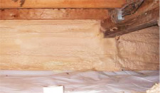 Polarfoam Soya insulation installed in Kamloops, British Columbia