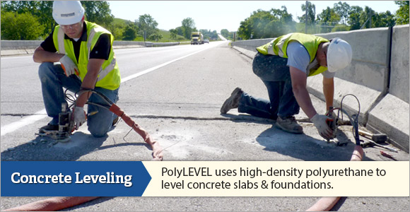 We are the Minnesota & North Dakota Concrete Leveling Experts!