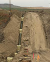 Pipeline Trench services Minnesota & North Dakota
