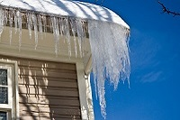 roof ice damage