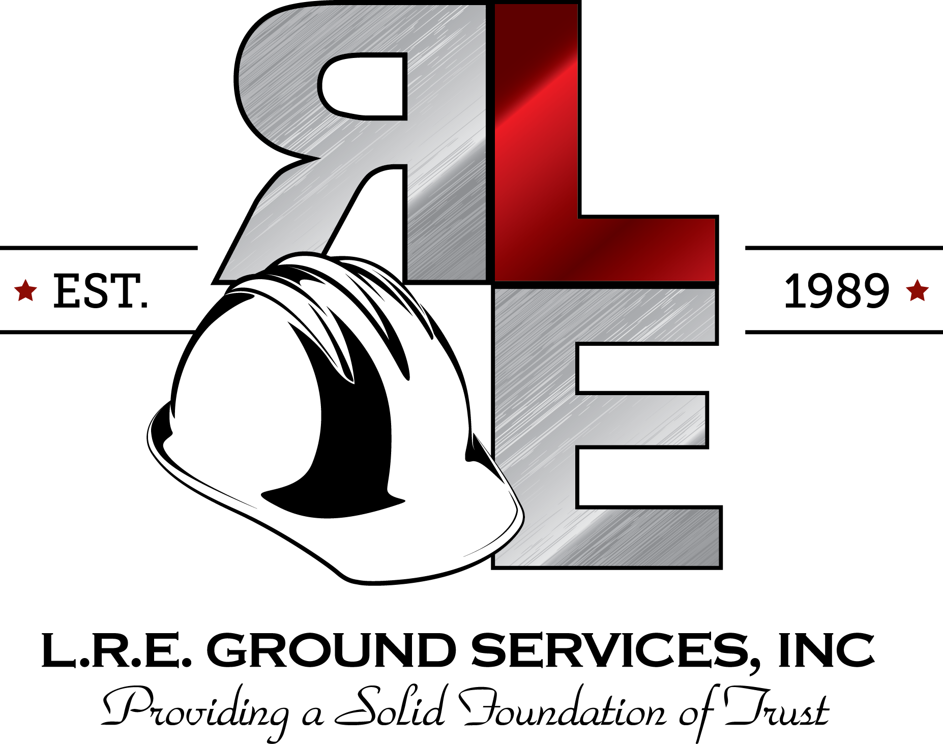 L.R.E Ground Services, Inc. Established in 1989. Providing a Solid Foundation of Trust