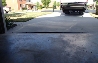 Concrete driveway repair leveling in orlando central florida before and after driveway leveling solutioingenieria Choice Image
