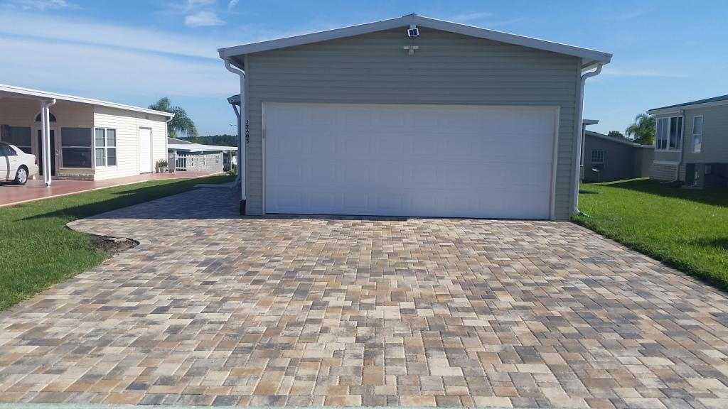 Concrete Brick Driveway Paver in Clearwater