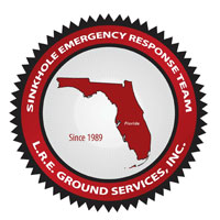 Sinkhole Emergency Response Team: L.R.E. Ground Services, Inc.