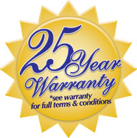 25 Year Limited Warranty