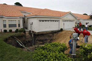 Emergency Sinkhole repair in Florida