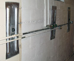 Foundation Wall Anchors Installed in Montreal