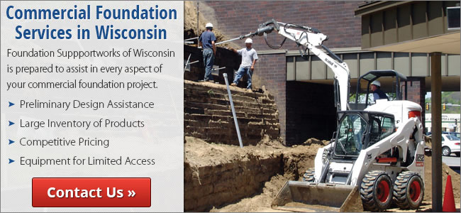 We are the Wisconsin Foundation Repair Experts!