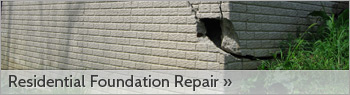 Residential Foundation Repair