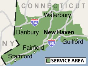Our Connecticut Service Area