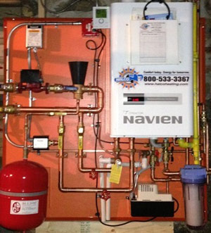 High Efficiency Gas Boiler Installation in New York | Gas Boiler ...