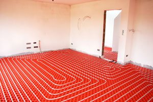 Radiant Floor Installation