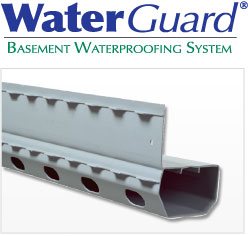 WaterGuard<sup>MD</sup> Basement Waterproofing System
