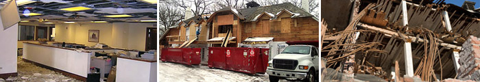 Commercial Disaster Recovery Services in IL & WI, including Highland Park, Winnetka & Lake Forest.