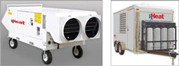 Rapid drying and dehumidification - RxHeat