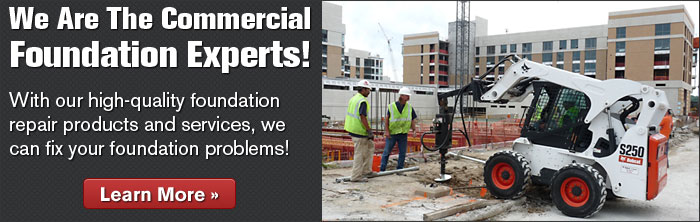We Are The Commercial Foundations Experts