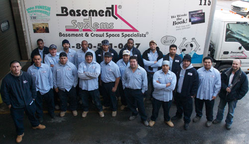 Connecticut Basement Systems Production Department