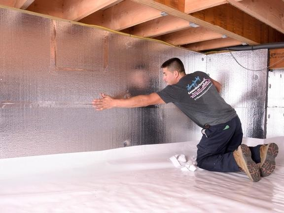 Crawl Space Winterization