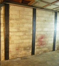CarbonArmor® provides a hi-tech fix for damaged foundation walls