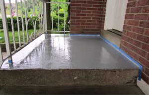 Elastomeric Concrete Deck Coating By Bakeru0027s Waterproofing Concrete Roof ...