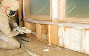 Foam insulation services in Kansas