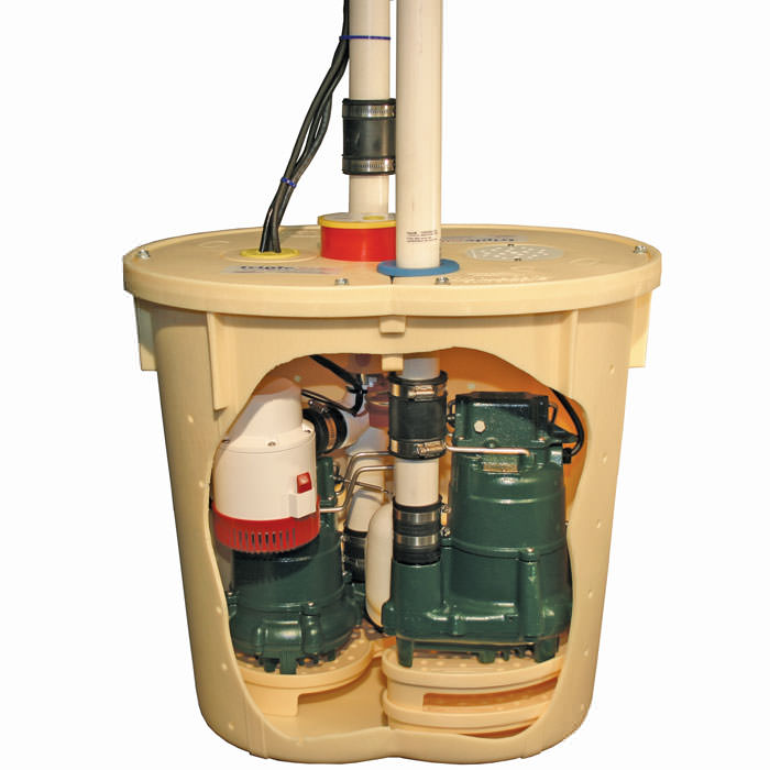 TripleSafe sump pump for installation in Delhi, ON
