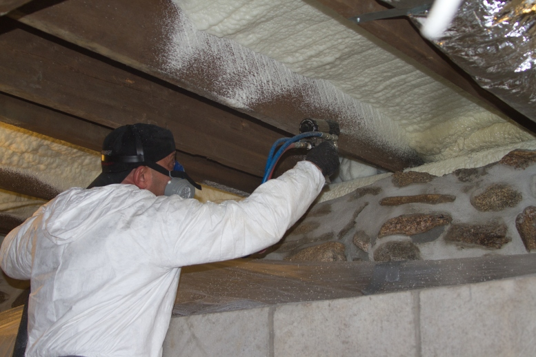 Spray Foam Insulation Installation in New Paltz & Nearby