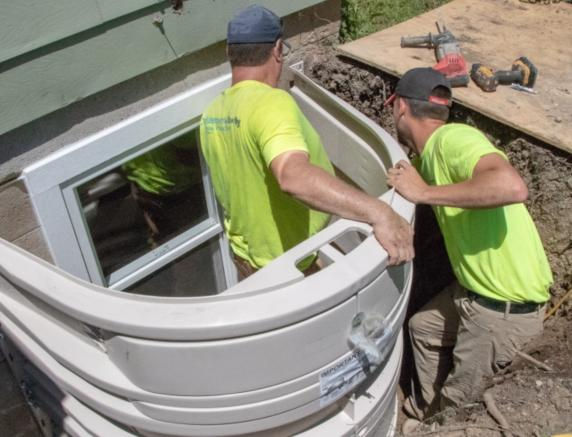 Emergency Egress Window & Well Installation in Columbus, Springfield, Mansfield & Nearby.