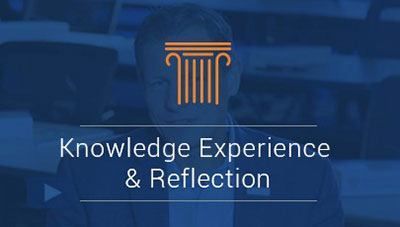 Knowledge Experience and Reflection