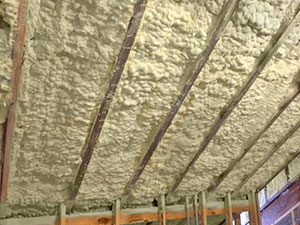 Spray foam insulation in Lanexa