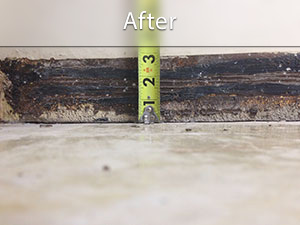 Slab Floor Leveling Crack Repair PolyLevel System - What to use to level concrete floor