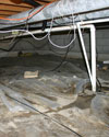 Rocky Mount crawl space with rotting wood