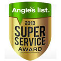 FOAMCO, Inc was awarded the 2013 Angies List Super Service Award