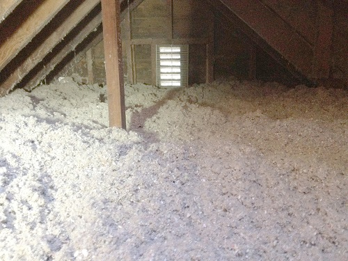 blown cellulose insulation