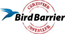 Installation of Bird Barrier humane bird control in Edison