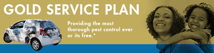Gold Service Plan from Cowleys Pest Services
