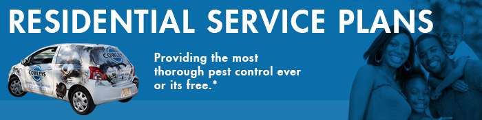 Residential Service Plans from Cowleys Pest Services