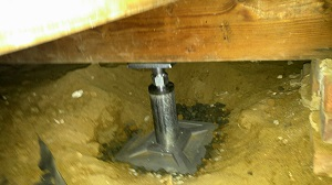 crawl space support jack