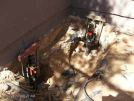 foundation piering process tucson area Arizona