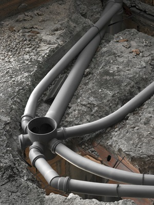 Sewer lines should be completely clear for optimum performance